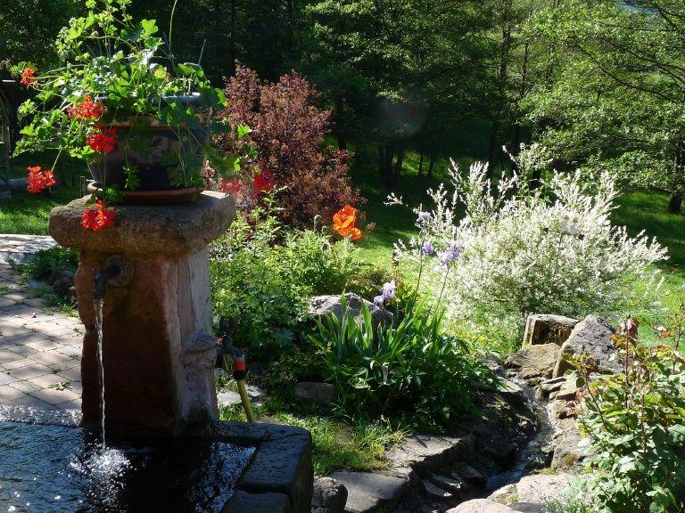 la fontaine de la ferme