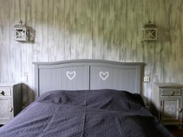 chalet alsace - chambre grand lit -