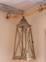 lanterne salon chalet