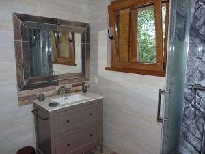 le chalet salle de bain RdC